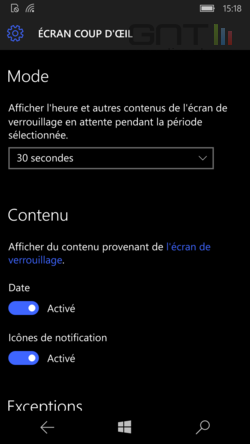 Ecran coup d'oeil Windows 10 (4)