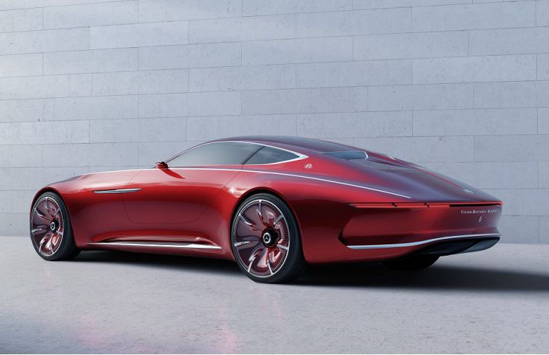 Vision Mercedes-Maybach 6 arrière