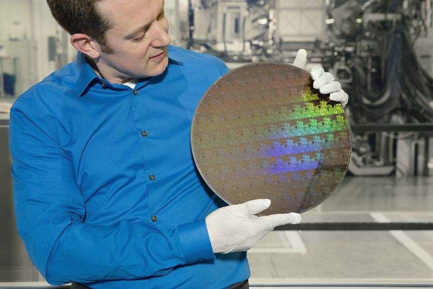 IBM wafer 5 nm
