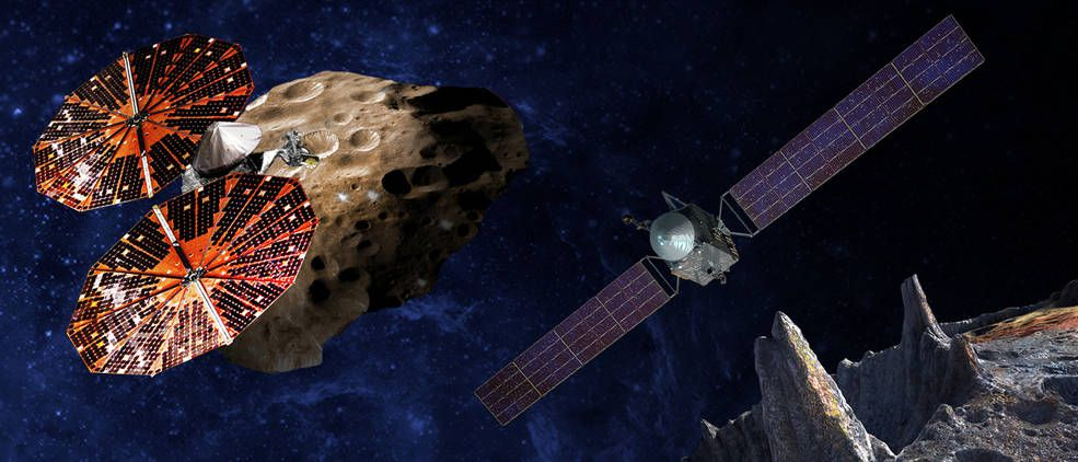 NASA Lucy Psyche asteroide