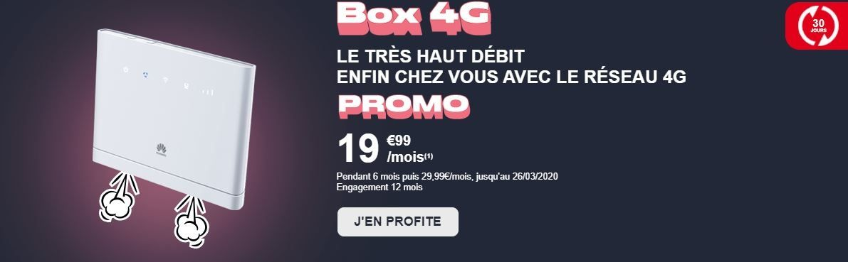 nrj mobile box 4G
