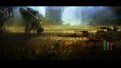 Crysis 3 - Grass Fields concept art