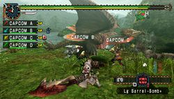 test monster hunter freedom unite psp image (1)