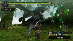test monster hunter freedom unite psp image (3)
