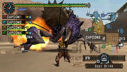 test monster hunter freedom unite psp image (4)