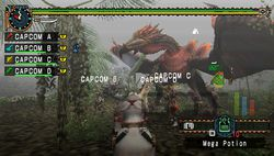 test monster hunter freedom unite psp image (10)