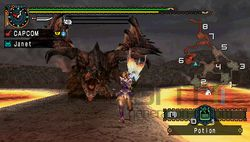 test monster hunter freedom unite psp image (11)