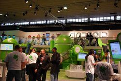 MWC Android stand 02