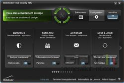 Bitdefender Total Security 2012 screen 1