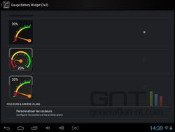 Jauge widget batterie Android (4).