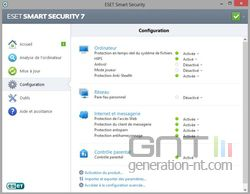 Eset Smart Security 7 configuration