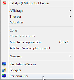 Fonds écran Windows 7 1