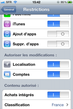 Ajout Suppression Applications iOS Ajout Suppression Applications iOS 004