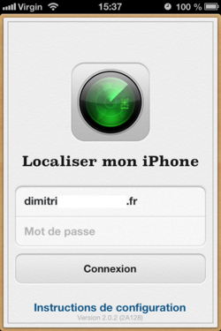 Localiser iPhone (5)