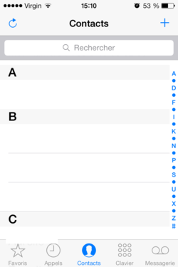 Bloquer appels SMS iPhone (1)