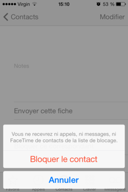 Bloquer appels SMS iPhone (3)