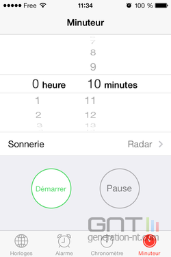 Minuteur iPhone (1)