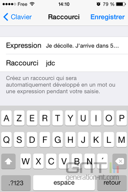 Raccourcis iPhone (5)