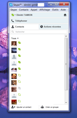 Skype absence automatique 1