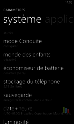 Mode conduite Windows Phone (1)