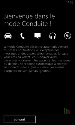 Mode conduite Windows Phone (2)