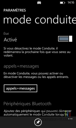 Mode conduite Windows Phone (7)