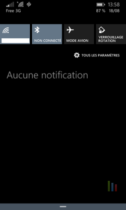 Windows Phone Raccourcis (2)