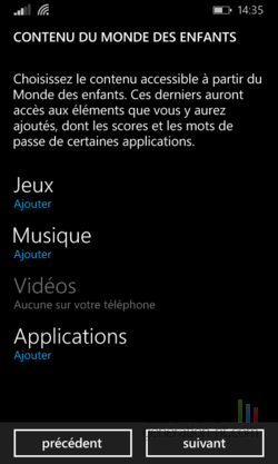 Monde Enfants Windows Phone (4)
