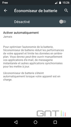 Mode éco Android Lollipop (4)