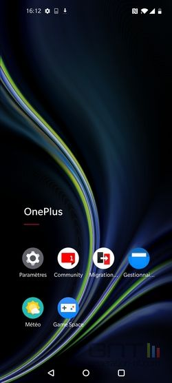 OnePlus 8 interface applications