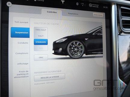 Tesla reglage caisse