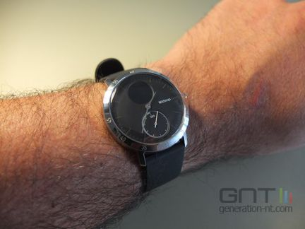 Withings Steel HR poignet