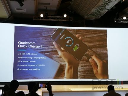 SnapDragon 845 Quick Charge 4