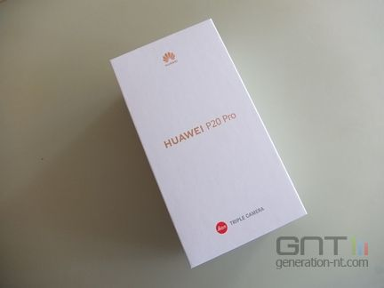 Huawei P20 Pro packaging