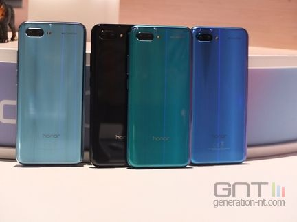 Honor 10 coloris