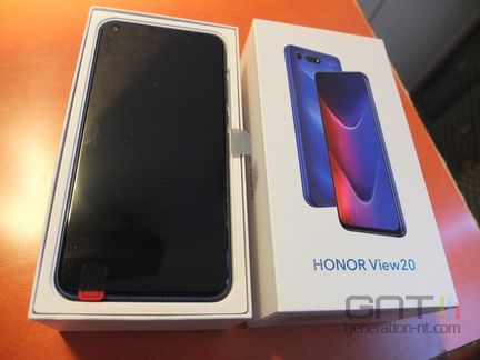Honor View 20 packaging