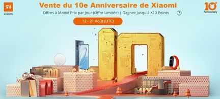 10 ans Xiaomi Gearbest