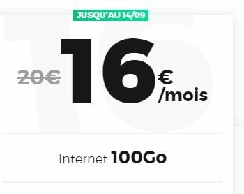 100 Go red by sfr forfait
