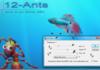 12-ants : des fourmis pour animer un écran