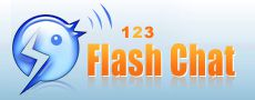 123 Flash Chat Server logo
