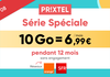 Forfait mobile Prixtel : dernières heures pour la promo 10Go à 6€99/mois