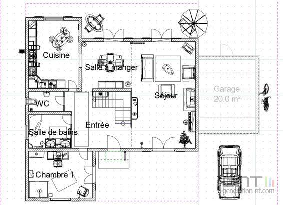 3d architecte pro 2007 567x411. Black Bedroom Furniture Sets. Home Design Ideas