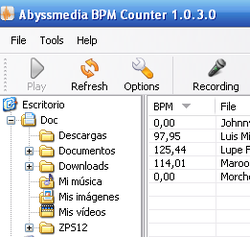 Abyssmedia BPM Counter screen