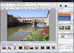 ACDSee Photo Editor screen