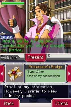 Ace Attorney Investigations : Miles Edgeworth - 1