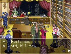 Ace Attorney Investigations : Miles Edgeworth - 8