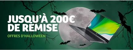 Acer promotion halloween
