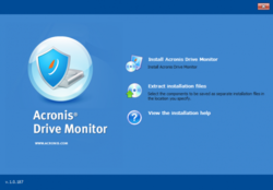 Acronis Drive Monitor screen2