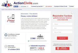ActionCivile Free Mobile