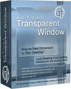 Actual Transparent Window : appliquer un effet de transparence sur ses fenêtres